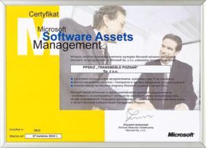 Microsoft – Software Assets Management