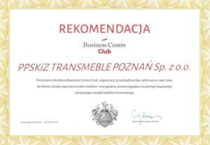 Rekomendacja BCC